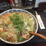 居酒屋竜馬 - 料理写真:皿うどん 麺ダブル