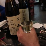 麦酒庵 - 日本酒に乾杯