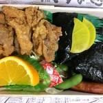 むすびのむさし - 料理写真:若鶏むすび