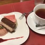 ショコレア - 紅茶にしてもらいました