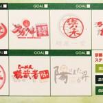 麺処 蛇の目屋 - スタンプカード(内右)
