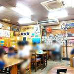 なかま食堂 - 昔の店内