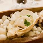 ナクレ - 低温加熱の牡蠣 58度の低温で火入れした牡蠣はふっくらプリップリ!