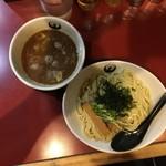 京つけめん つるかめ - 魚介醤油つけ麺(並)200g 820円