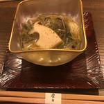 90476389 - 鮑とじゅんさいの素麺
