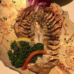 鈴の屋 - うちわ海老の塩焼き