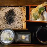 金太郎 - 天ざるそば 大盛 1625円