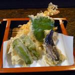 金太郎 - 天ざる 箱根の天ぷら