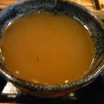 金太郎 - そば湯を入れて