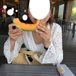 とみたメロンハウス - カットメロン もっとおいしさを追求してっ!! 2018/08/01