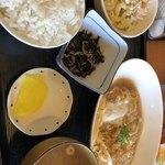 ぶたや - カツ煮定食  ¥700-
