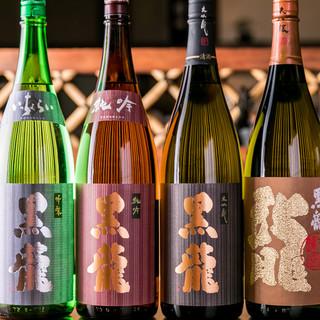 銀座一の品揃え。福井の銘酒