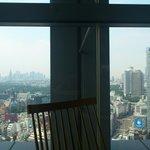 9048332 - 眺望です。左奥には新宿が見えます。