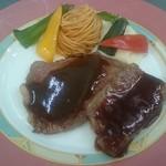 錦牛のレディースステーキ