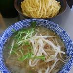 めん屋 桔梗 - 塩つけ麺(普通盛)※もやし変更2018.8.4