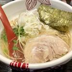 麺処 あす花 - 塩ラーメン800円