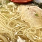 麺処 あす花 - 黄金スープ