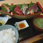 川竹 - 料理写真:さしみ定食