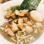 麺ガレージ 肉ヲ見ル - 特濃煮干しラーメン