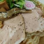 煮干しラーメン玉五郎 六代目 - 冷やし煮干らーめんアップ