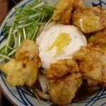 丸亀製麺 - 鶏天ぶっかけうどん大