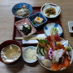 喰い処 弐七 - 弐七丼+山ワサビ