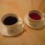 カフェ ライブラ - ブレンド珈琲・紅茶