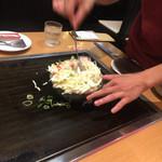 鶴橋風月 - 大阪では店員さんに委ねます