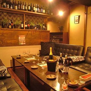 女子会に最適☆人気の『ふかふかソファーの個室』ございます!