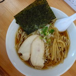 麺屋十郎兵衛 - 煮干ラーメンあっさり(\650税込み)