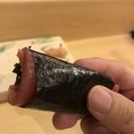 旬美にしかわ - 中トロの手巻き寿司