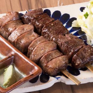九州産和牛の牛タン・牛サガリを使用した絶品料理が楽しめます!