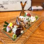 やえびし - 料理写真:お造り盛り合わせ