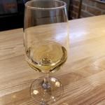 池田ワイン城 - サービスで頂いたスパークリングワイン