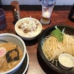 つけ麺みさわ - つけ麺(並) チャーシューゴハンセット(1,000円)