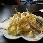 割烹たべた - ハゼの天ぷら