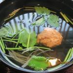 90496655 - 極上さば漬丼(定食)(つみれ汁)