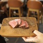 サロン ブッチャー アンド ビア - 肉