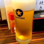 鳥若 - ビール