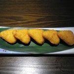 黒・紋 - カマンベールチーズフライ