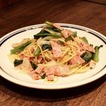 葡萄酒酒場 カリテプリ - 旬野菜を使ったペペロンチーノ