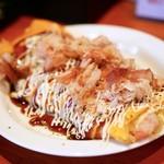 山鉄串 - ベーコンとチーズのとんぺい焼き  650円