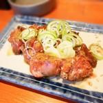 山鉄串 - 鶏の白レバーの炙り
