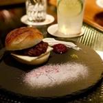 サンフェイス - 自家製パンのあんバターサンド