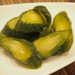 トラットリア・アルモ - 胡瓜の糠漬け