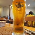トラットリア・アルモ - 生ビール
