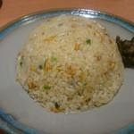蕎麦鳥 - チャーハン  550円(税別)