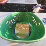 万助楼 - 【夕食】先付け 胡麻豆腐