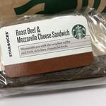 90507144 - ローストビーフ&モッツァレラチーズサンドイッチ