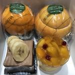 京橋千疋屋製造 直売所 - ゼリー、ケーキ